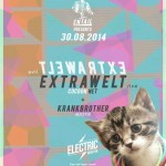 EXTRAWELT (LIVE) x KRANKBROTHER x WARM UP | ELECTRIC BRIXTON 30.8.14