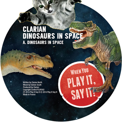 clarian dinosaurs in space