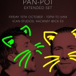 PAN-POT EXTENDED SET | iCAN STUDIOS 10TH OCTOBER