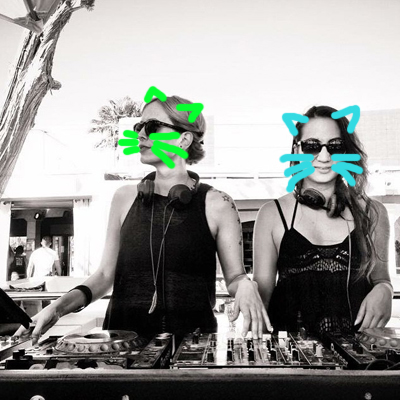 MEandHer Techno Kittens
