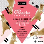 ANJA SCHNEIDER INVITES | TICKET GIVEAWAY